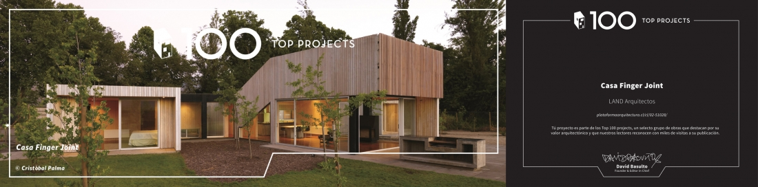 Finger Joint House, Top 100 Projects of Archdaily